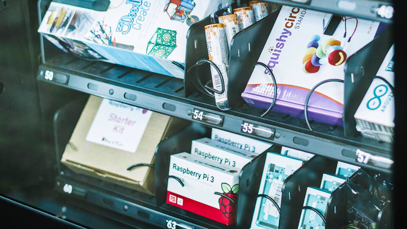 Smart Vending Machines for Pop-Up Retailing