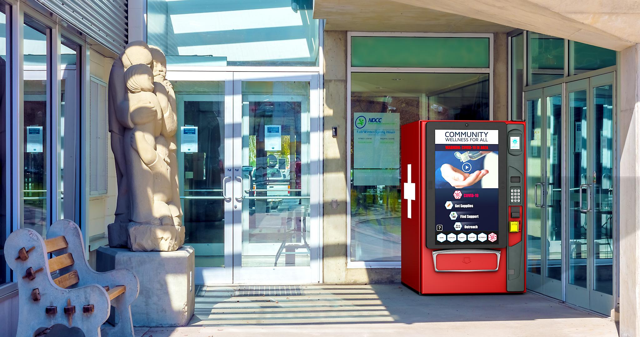 SMRT1 Health & Wellness Vending Machine