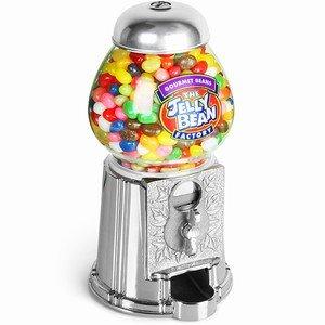 Cash-only vintage jelly bean machine