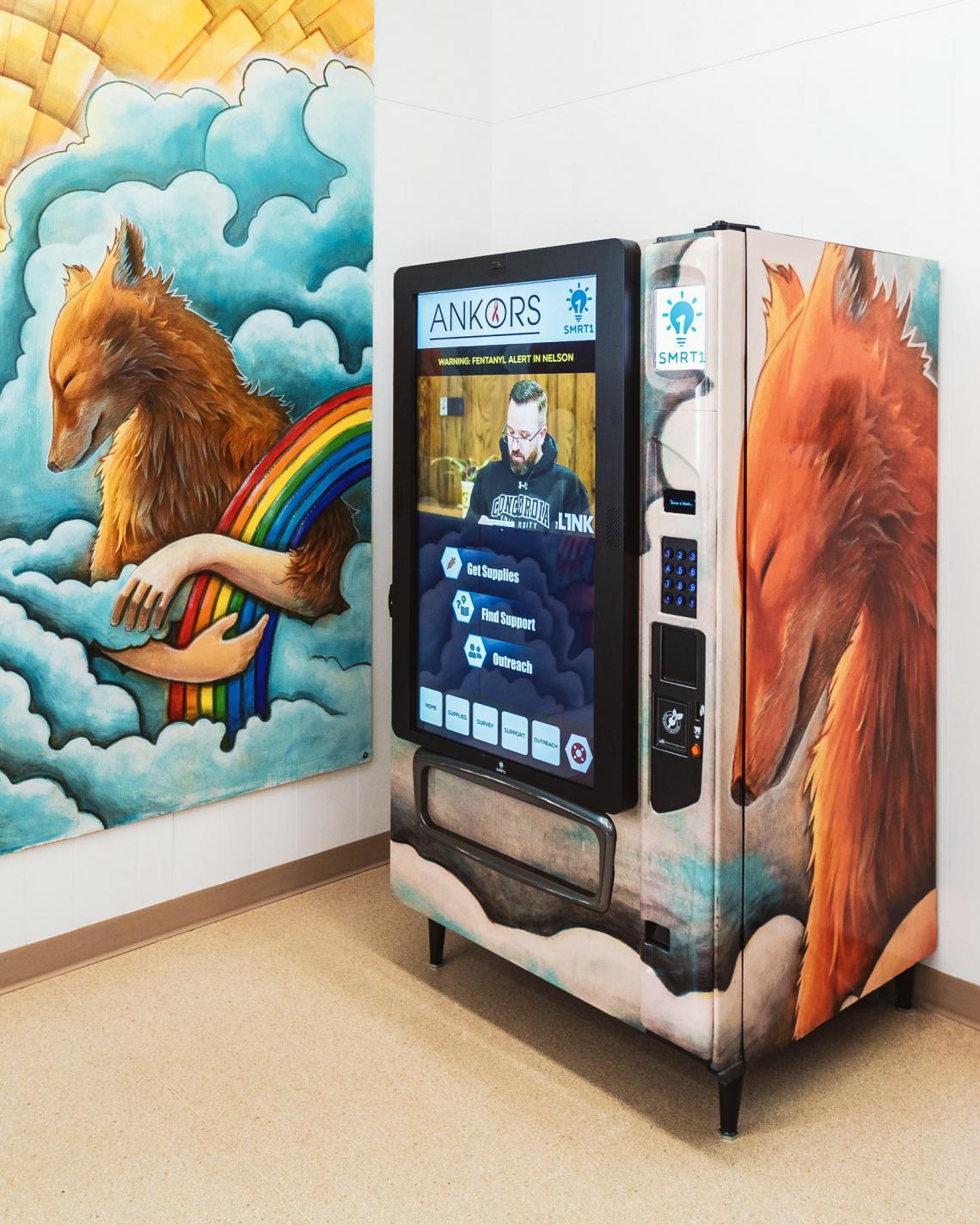 ANKORS: The Harm Reduction Vending Machine