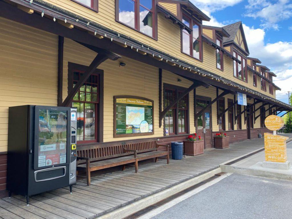 SMRT11 Vending Railtown Nelson, BC