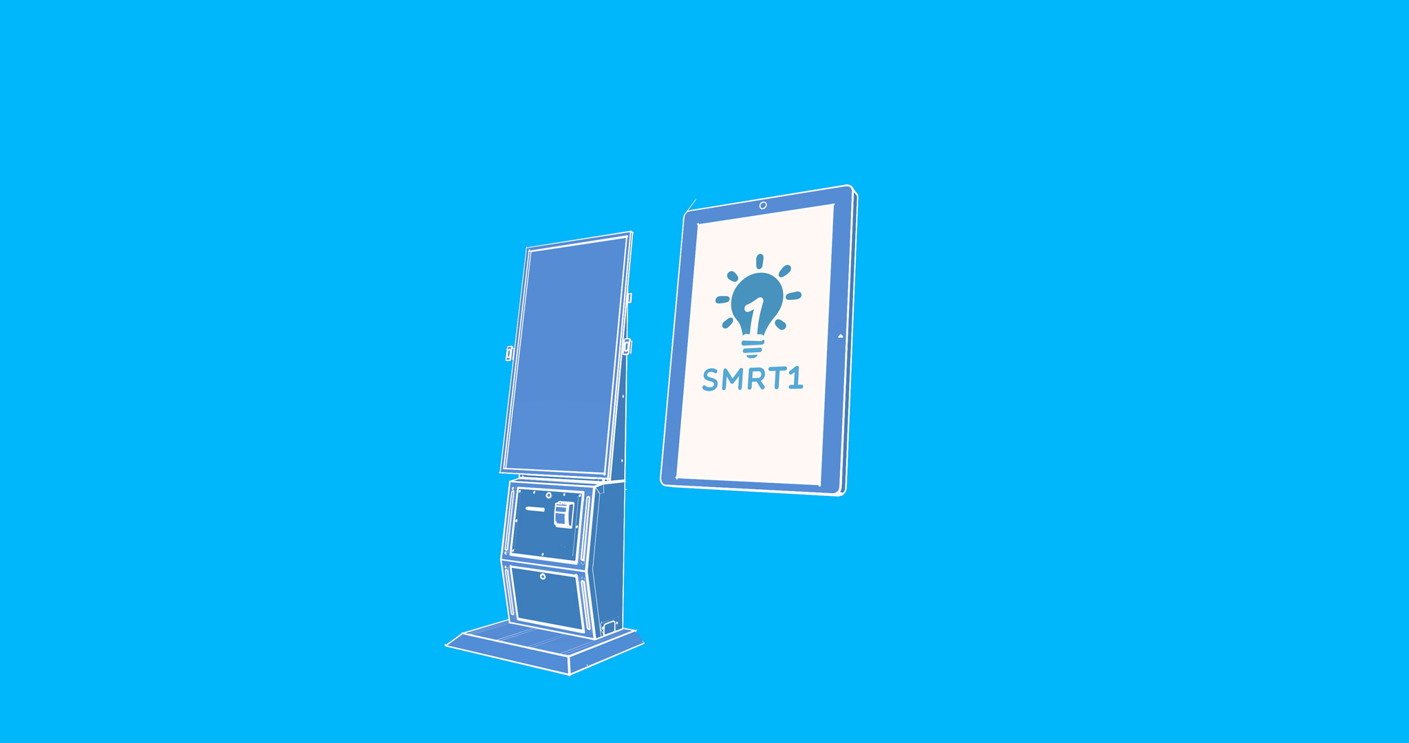 What's the difference between a smart vending machine and a kiosk?