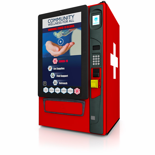 What is a smart vending machine?