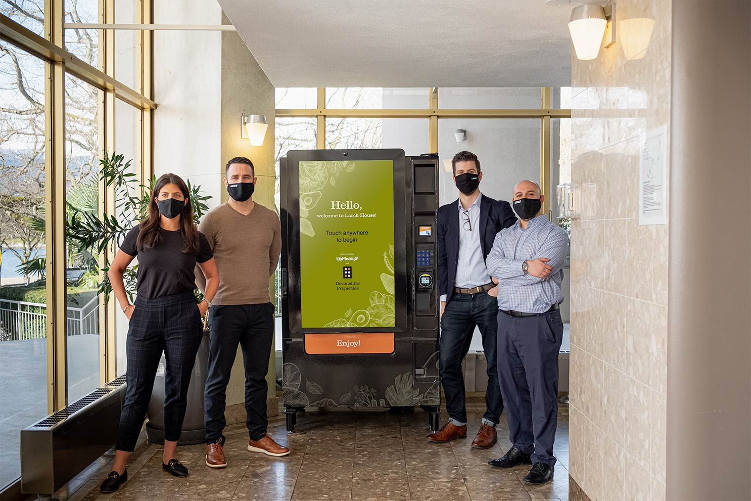 UpMeals Launches First Smart Vending Solution in Residential Building